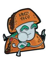 Invader Zim Krazy Taco Gir Pin