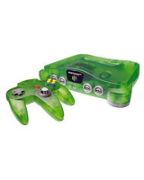 Nintendo 64 System Funtastic Series (Jungle Green)