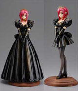 Please Teacher!: Mizuho in a Black Wedding Dress PVC Statue