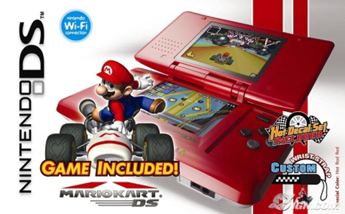 Nintendo DS Hot Rod Red Edition