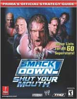 WWE Smackdown: Shut Your Mouth Official Strategy Guide Book