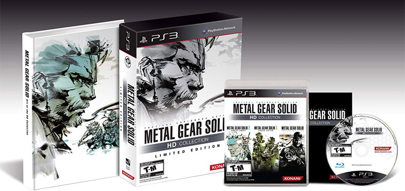 ps3 Metal Gear Solid HD Collection Limited Edition image