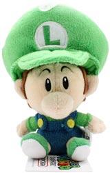 Nintendo Baby Luigi 5 Inch Plush