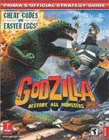 Godzilla: Destroy All Monsters Melee Official Strategy Guide