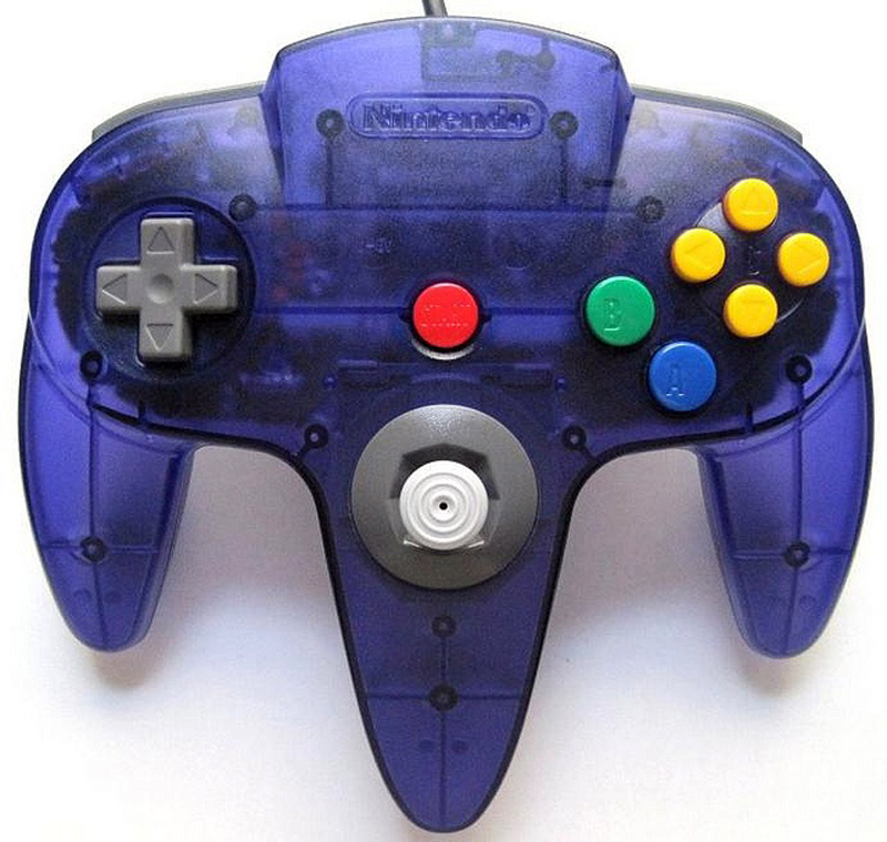 N64 Controller by Nintendo (Grape Purple)