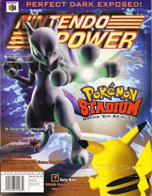 Nintendo Power Volume 130 Pokemon Stadium