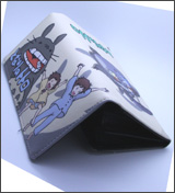My Neighbor Totoro: Totoro with Satsuke and Mei Long Wallet