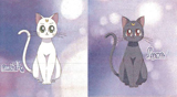 Sailor Moon Crystal Luna And Artemis Scarf