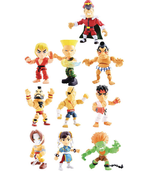 Street Fighter The Loyal Subjects Blind Mystery Box Mini Figures