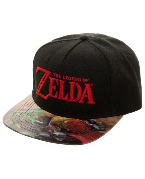 Legend of Zelda Printed Vinyl Flatbill Hat
