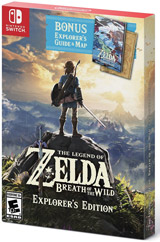 Legend of Zelda: Breath of the Wild Explorer's Edition