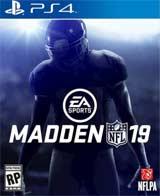 PS4 Madden NFL 19 Box Art