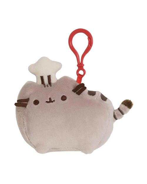 Pusheen Chef Backpack Clip