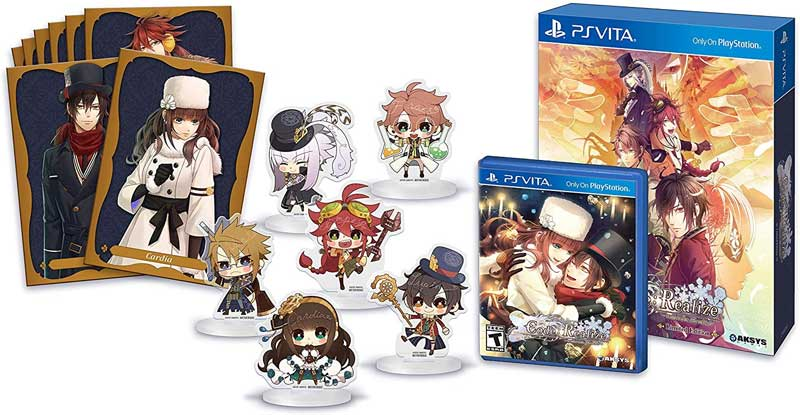 PSV Code Realize Wintertide Miracles Limited Edition items