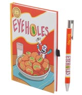 Rick & Morty Eyeholes Cereal Journal with Pen Set