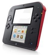 Nintendo 2DS Crimson Red Refurbished System - Grade A