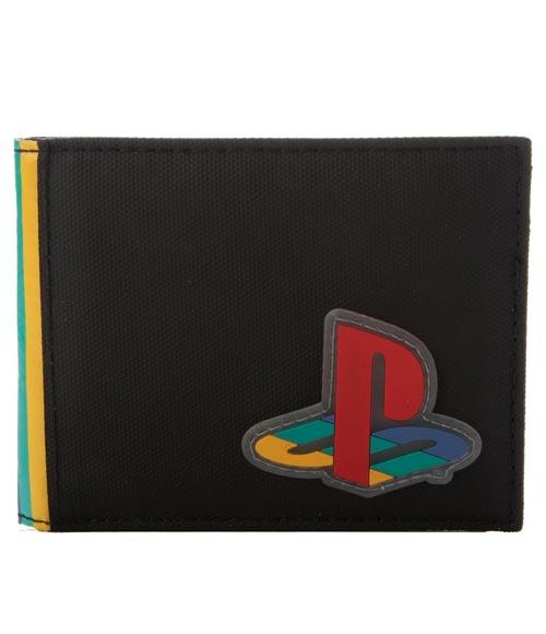 Sony PlayStation Rubber Patch Bi-Fold Wallet