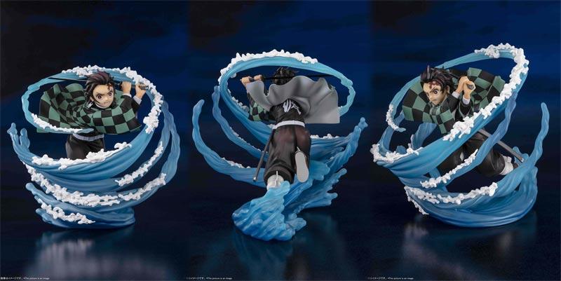 Demon Slayer Tanjiro Kamado Water Breathing Figuarts Zero Statue extra img