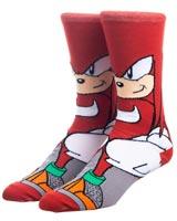 Sonic the Hedgehog Knuckles 360 Crew Socks