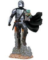 Star Wars Milestones The Mandalorian & Child Statue
