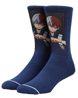 My Hero Academia Shoto Todoroki Sublimated Crew Socks