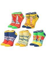 Looney Tunes Ankle Socks 5 Pack