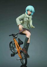 Neon Genesis Evangelion: Rei Ayanami BMX Trick PVC Figure