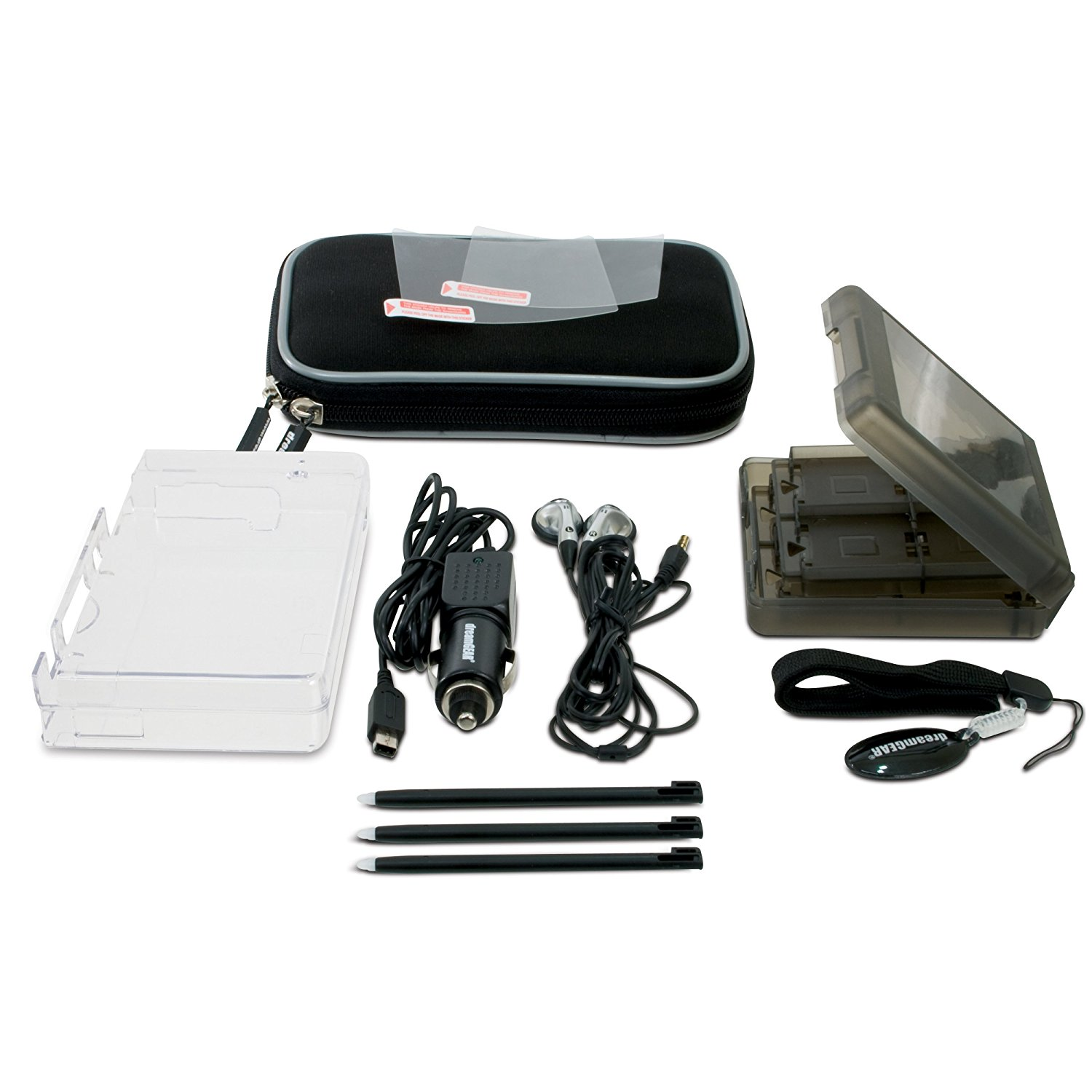 DSi 10-in-1 Starter Kit Black by DreamGear