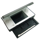 Nintendo DSi Brushed Aluminium Clamshell Protector and Stand (Black)