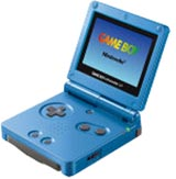 Nintendo Game Boy Advance SP Surf Blue Limited Edition