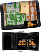 Zelda Map and Route Wallet