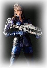 Mass Effect 3 Play Arts Kai Ashley Williams Figure