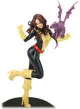 Marvel Comics Kitty Pryde Bishoujo Statue