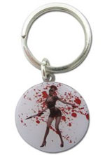 Silent Hill: Metal Nurse Circle Keychain