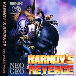 Karnov's Revenge Neo Geo CD