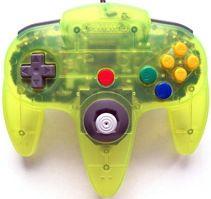 N64 Controller by Nintendo Extreme Green
