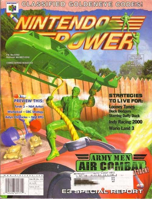 Nintendo Power Volume 133 Amry Men Air Combat
