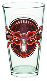 Star Wars Rebel 16oz Pint Glass