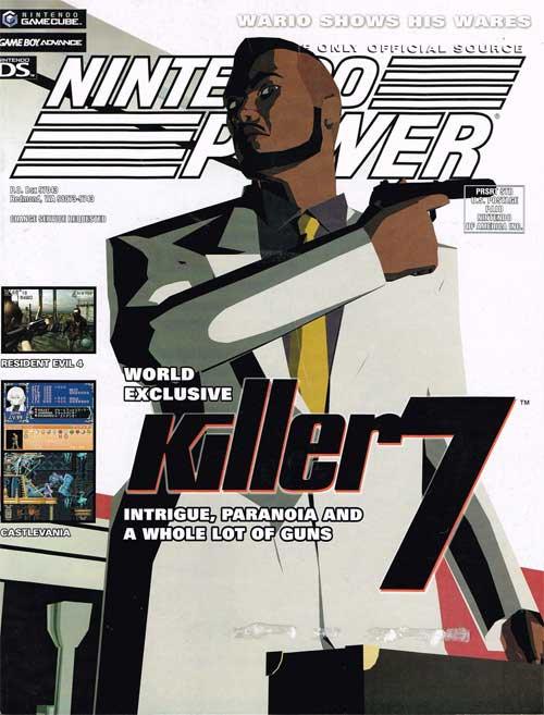 Nintendo Power Volume 190 Killer 7