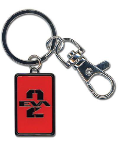 Evangelion New Movie 02 Metal Keychain