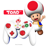 Wii U Toad Wired Fight Pad