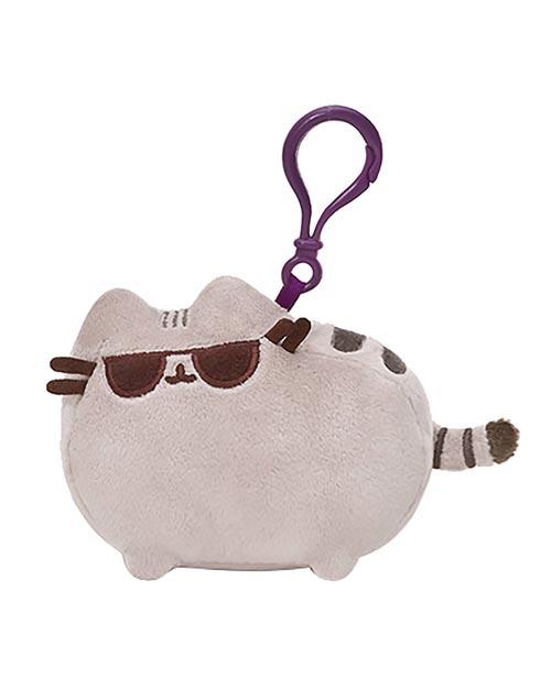 Pusheen Sunglasses Backpack Clip