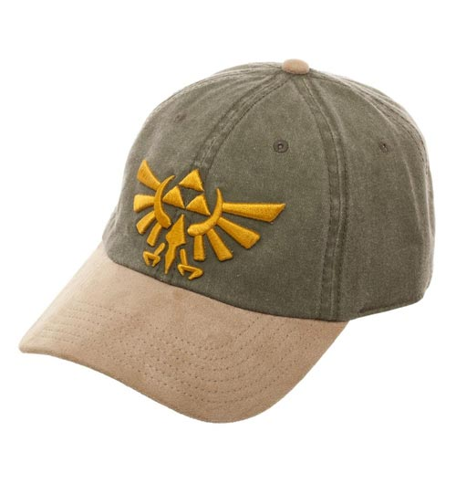Legend of Zelda Suede Bill Ball Cap