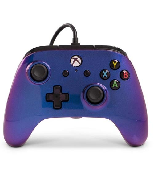 Xbox One Enhanced Wired Controller: Cosmos Nebula