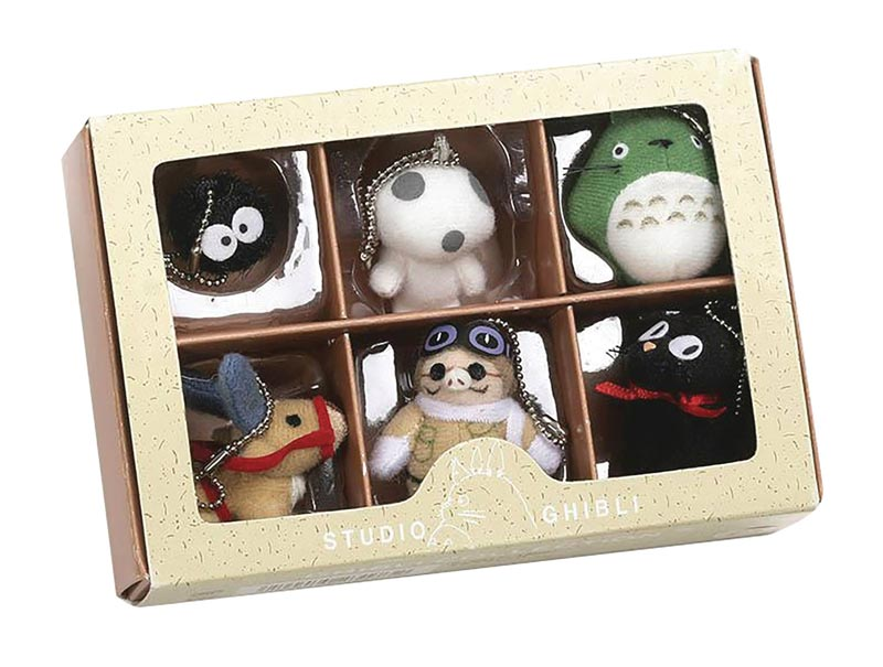 Studio Ghibli Collector Plush Keychain Box Series 1 bigger image