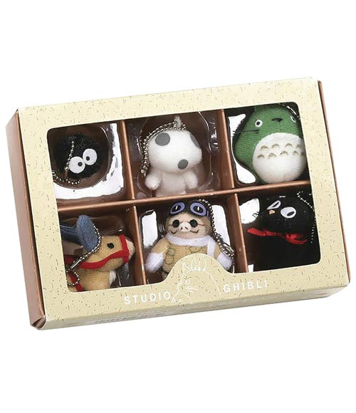 Studio Ghibli Collector Plush Keychain Box Series Set 1
