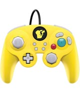 Nintendo Switch Wired Fight Pad Pro Controller: Pikachu