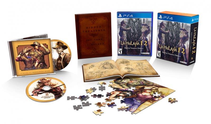 PlayStation 4 La Mulana 1 and 2 Hidden Treasures Edition all items