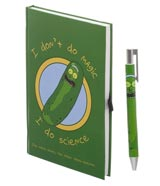 Rick & Morty Pickle Rick Journal with Pen Set