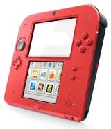 Nintendo 2DS Crimson Red 2 Refurbished System - Grade A